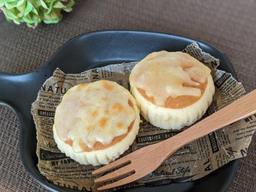 とろーりチーズのチーズ蒸しパン